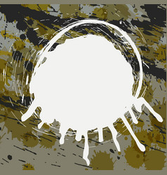 abstract splatter background vector image vector image