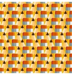 seamless pattern of simple and colored vector image vector image