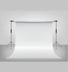 3d template for backdrop photography empty vector image