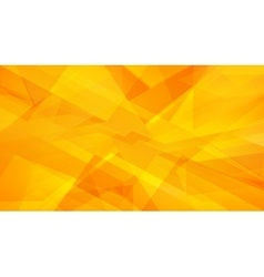 autumn and summer orange yellow abstract triangle vector image