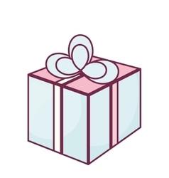 Merry christmas gift celebration vector