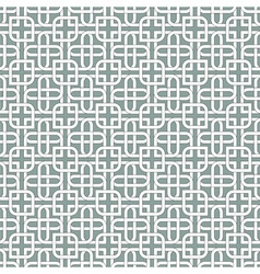 Monochromatic arabic pattern vector