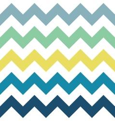 Sea Zigzag Pattern vector image