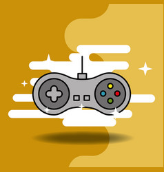 video game classic vector image