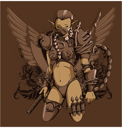 zodiac tshirt design vector image