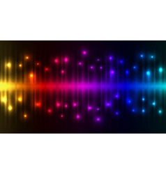 Abstract color lights background vector image vector image
