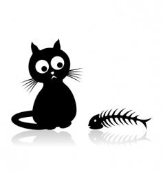 cat2 vector image vector image
