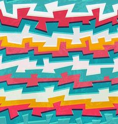 grunge graffiti seamless pattern vector image