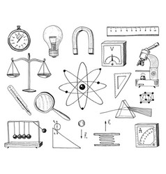 compass and magnet alpelmet with thermometer and vector image vector image