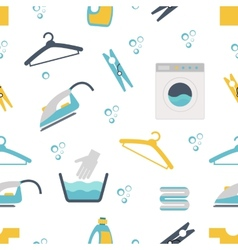 Laundry Themed Graphics vector image