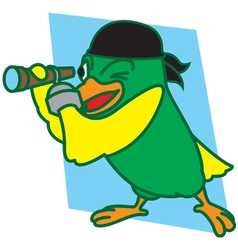 Pirates Bird vector image