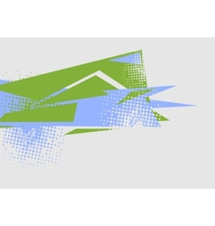 Abstract flat minimal bright tech background vector image