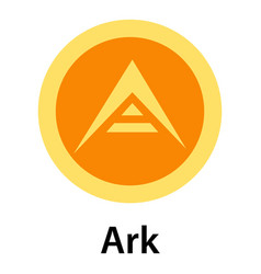 Ark icon flat style vector