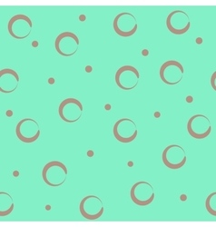 Circle pastel seamless pattern vector image