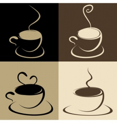 coffee vector image vector image