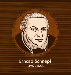 erhard schnepf vector image