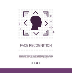 Face scanning system biometric identification vector