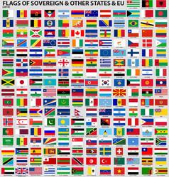 flags world 2014 ai10 vector image