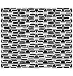 Geometric block pattern vector