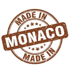 Made in monaco vector