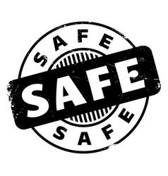 Safe rubber stamp vector