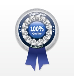 Satisfaction guarantee label eps 10 vector image