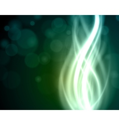 Abstract light beam vector image vector image