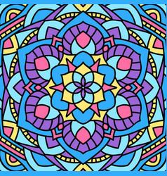 Beautiful circular pattern unusual background vector