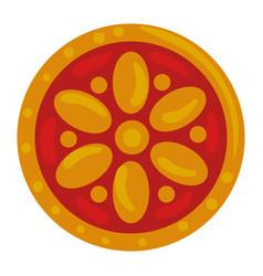 Ethnic mandala decorative isolated icon vector