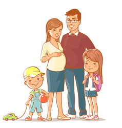 Family together vector