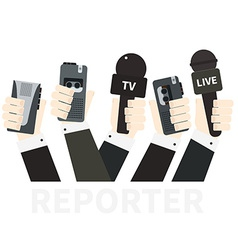 Journalism Concept vector image