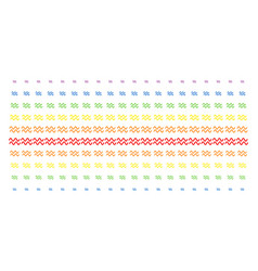 Sinusoid waves shape halftone spectral array vector