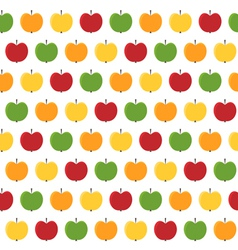 apple seamless vector image