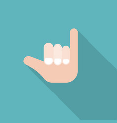 homosexual or promise hand sign icon vector image