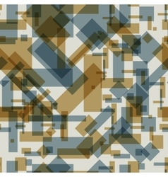 Seamless pattern with transparent rectangles vector image vector image