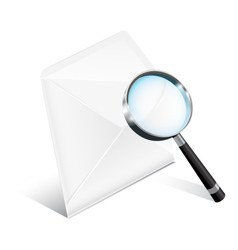 Business Mail Icon vector image vector image