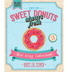 Donut color vector