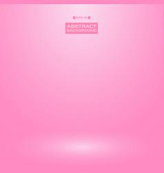 abstract gradient pink studio room background vector image