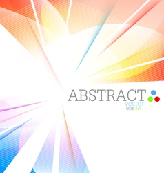Abstract multicolored vector