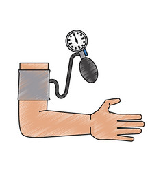 blood pressure design vector image