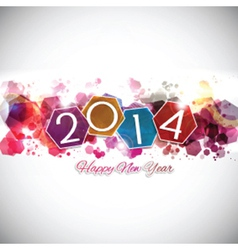 happy new year background 2409 vector image