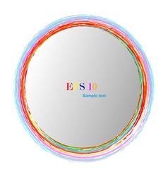 Logo rainbow vector