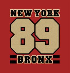 New york striker bronx best in team vector