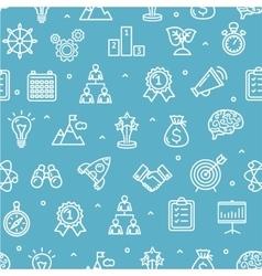 Start Up Motivation Brainstorming Background vector image