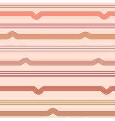 Wavy line seamless pattern vector image