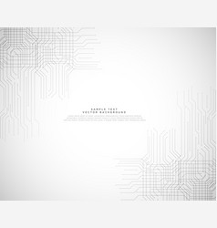 Abstract hi-tech technology background design vector
