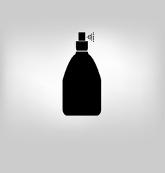 icon bottle spray vector image
