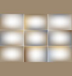 Sandy color banners gradient backgrounds vector