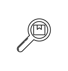 search parcel signs and symbols can be used for vector image