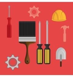 Tools industry design vector